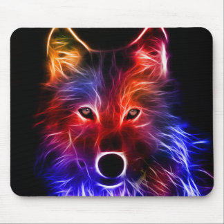 Wolf Wonder Mouse Mat