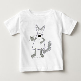 wolf you are there, Designed by Plume of Mouse Infant T-Shirt