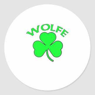 Wolfe Stickers