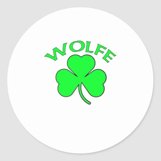 Wolfe Stickers