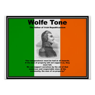 Wolfe Tone Poster