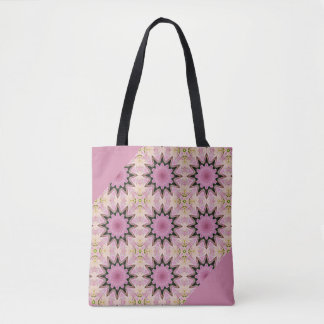 WOLFE Tote pink and purple
