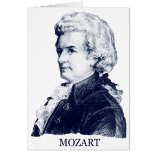 Wolfgang Amadeus Mozart, blue Cards
