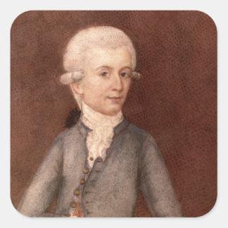 Wolfgang Amadeus Mozart c 1780 Stickers
