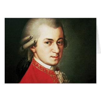 Wolfgang Amadeus Mozart Greeting Card