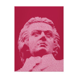 Wolfgang Amadeus Mozart - Classical Music Canvas Prints