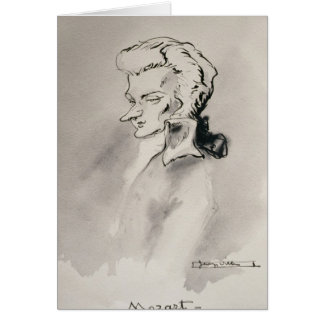 Wolfgang Amadeus Mozart Greeting Cards