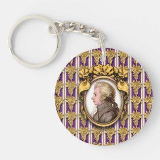 Wolfgang Amadeus Mozart Keychains