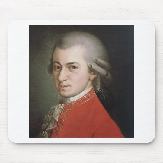 Wolfgang Amadeus Mozart Mouse Mat