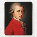 Wolfgang Amadeus Mozart portrait Mouse Pad
