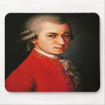 Wolfgang Amadeus Mozart portrait Mousepads