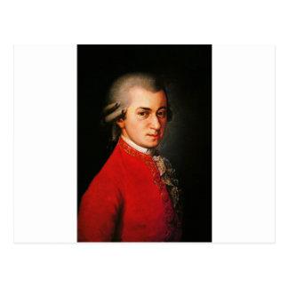 Wolfgang Amadeus Mozart portrait Postcard