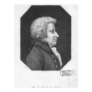 Wolfgang Amadeus Mozart Postcards
