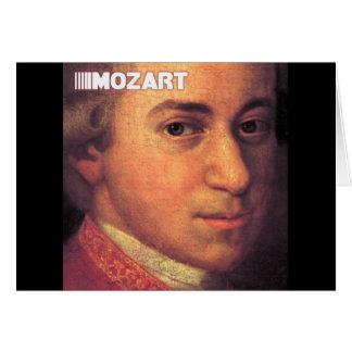 Wolfgang Amadeus Mozart Stuff Greeting Card