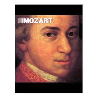 Wolfgang Amadeus Mozart Stuff Postcard
