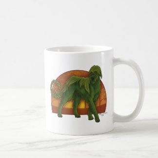 Wolfhound Cù Sìth Basic White Mug