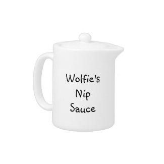 Wolfie's Nip Sauce Pot