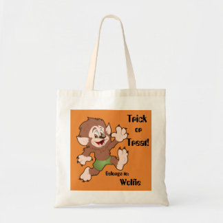 Wolfie's Trick or Treat Bag
