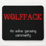 Wolfpack Mousepad