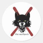 Wolfpack ski /  helmet stickers