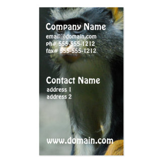 Wolf's Monkey Business Card Template