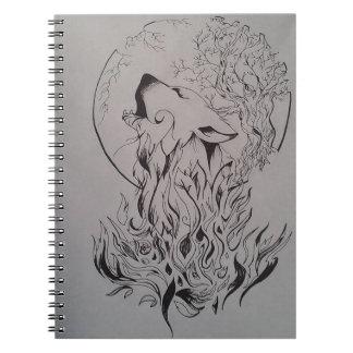 Wolf's Night NoteBook