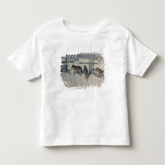 Wolfs, Winter Night, c.1910 Toddler T-Shirt