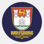 Wolfsburg Round Sticker