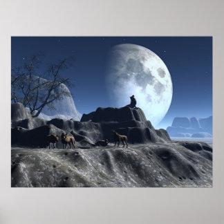 Wolfy Poster