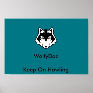 WolfyDaz Bedroom Poster