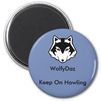 WolfyDaz Magnet