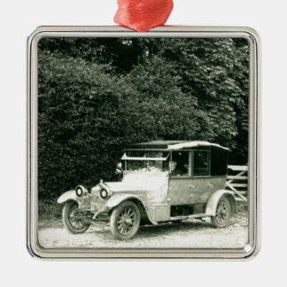 Wolseley vintage car christmas ornament
