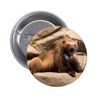 Wolverine Pinback Button