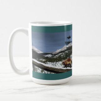 Wolverine Basic White Mug