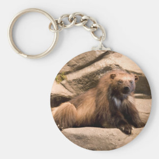 Wolverine Basic Round Button Key Ring