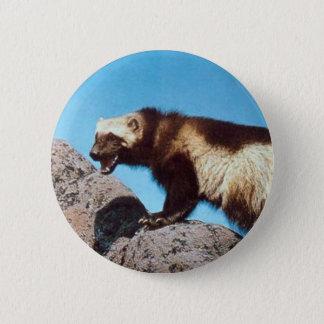 wolverine pin!! 6 cm round badge