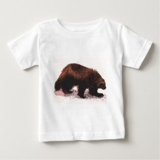 Wolverine Walks on snowy slope.jpg Baby T-Shirt