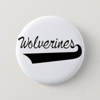 Wolverines 6 Cm Round Badge