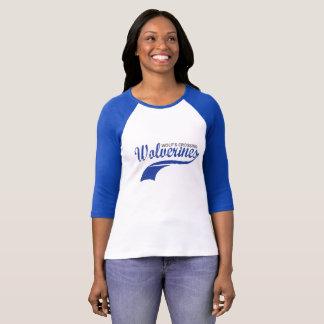 Wolverines Baseball Raglan T-Shirt