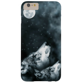 Wolves and moon iPhone Case