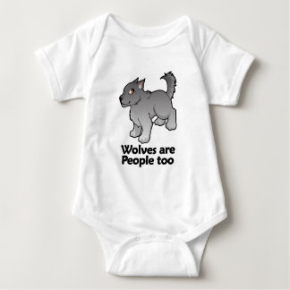 Wolves are People too Baby Bodysuit