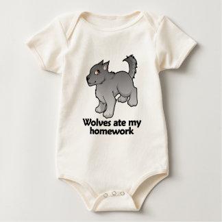 Wolves ate my homework bodysuits