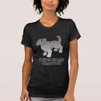 Wolves ate my homework T-Shirt