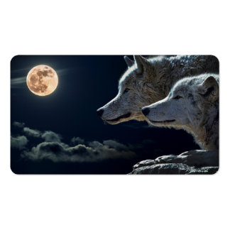 Wolves Business Card Template
