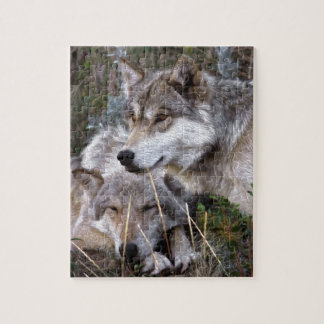 Wolves ~ Digital Oil Paining Jigsaw Puzzle