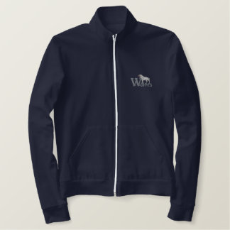 Wolves Embroidered Jacket