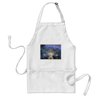 Wolves in the night apron
