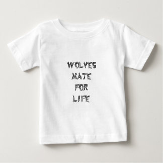 Wolves Mate for Life Tee Shirt
