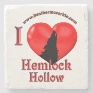 Wolves of Hemlock Hollow Coaster Stone Coaster