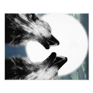 Wolves Photo Print
